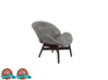Miniature Lounge Chair - Gloster Dansk 3d printed Miniature Lounge Chair - Gloster Dansk
