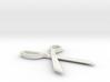 Scissors Pendant 3d printed