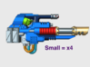 Underslung Laser Cannon (x4, x5 or x10) 3d printed