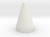 Flat Top Cone Spike 3d printed