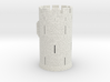 HOF011 - Castle round tower 3d printed