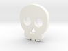 Skull Button 3d printed