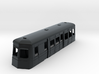 009 streamlined railcar  3d printed