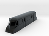 "009 bogie ""Flying Banana"" railcar parcel car 3d printed"
