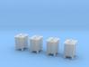 Z- scale signal relay box 4pcs 3d printed