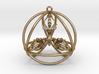 Quadruple Dorje Tetrasphere 3d printed