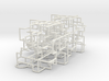 """Bare Bones"" Two-Pack - Rolling Ball Maze in Case 3d printed"