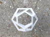 Hexagonal Torus Skeleton 3d printed