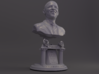 14 inch Bronze bust of Barack Obama 3d printed