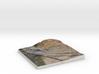 Sonoma Raceway, Sears Point, California, 1:6000 3d printed