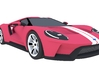 Ford GT - 2017 [150mm & Red] 3d printed
