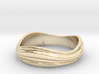 Ebb and Flow Ring No.2 - Size 7 3d printed