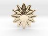 Flower shape for earrings or pendant 3d printed