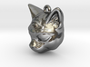 Mystical cat pendant 3d printed