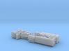 BGM-109G Gryphon GLCM TEL & LCC 1/144 3d printed