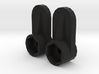 JK Tube Door Latch Pair 3d printed