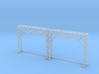 N Scale Signal Bridge Gantry 2 tracks 2pc 3d printed