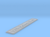Nameplate USS Quincy CA-39 3d printed