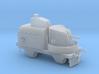 1/72nd scale Armoured traincar, gun carriage 3d printed
