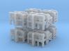 1/300 USN Depth Charge Loader Rack SET 3d printed