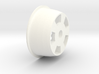 1:8 Rear American Five Spoke Wheel 3d printed