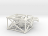 Hyperbola - Straight Rod through a Curved Hole 3d printed