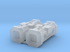 Kyber Crystal Container Storage Crate 6mm Pair 3d printed