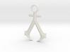 New England Assassins Emblem 3d printed