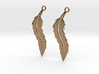 Feather Earrings V2 3d printed