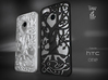 "HTC-ONE case ""Tree of life"" 3d printed"