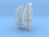 1/100 Wheel and Pedestal for Ships-of-the-Line 3d printed