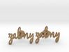 "Name Cufflinks - ""Zalmy"" 3d printed"