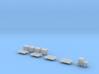 1:150 Air Cargo Set 3d printed