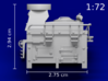 1:72 HMS Victory Galley Stove *UPDATED* 3d printed