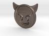 Evil Emoji Pendant 3d printed