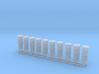 Schiffslampen/Navigation Lights  180° 1:50 double 3d printed