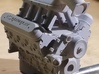 LS Short Block 3d printed Model Behavior LS Engine with accessories kit, GM Performance Valve Covers and Holley Hi-Ram by Raphael Torres
