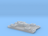1/700 Siebel Ferry 40 Light Flak 3d printed
