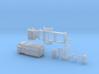 BP 11 Betonpumpe auf Anhänger ähnlich THS140 3d printed