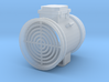 """1/64 28"""" Axial Fan Without Transition  3d printed"""