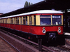 BR 477 Mod N [2x body] 3d printed Photo of Berlin S-bahn DB 477