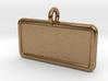 Rectangular Pet Tag 3d printed