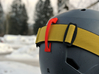 Goggle Clip - compatible with Bern Helmets 3d printed