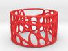 Voronoi Bracelet (001a) 3d printed