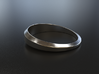 Women's Simple Life Ring 3d printed