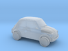 Fiat 500 3d printed
