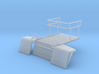 Snowcat Track Machine Flat Bed 1-87 HO Scale 3d printed