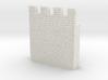 HOF035  - Castle wall 5 3d printed
