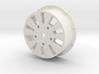 sawtooth beatlock wheels 2.0, part 2/3 rear 3d printed