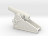 russian heavy 8 inch cannon m 1877 1/144 3d printed